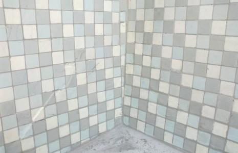Mosaici facciata dopo