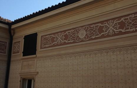 decorazione pittorica villa privata Modena