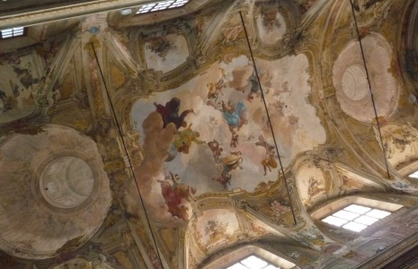 volta navata Sala dei teatini Piacenza