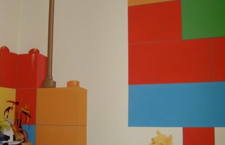 Camerette decorate camerette decorate baby interior - Decori pareti camerette ...